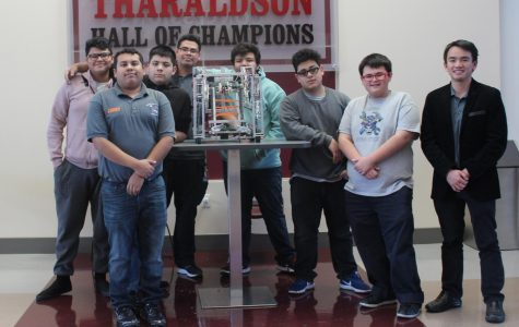 Robotics competes in Faith Lutheran competition