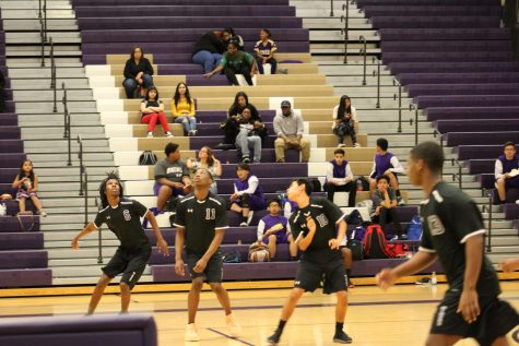 Volleyball conquers Desert Pines