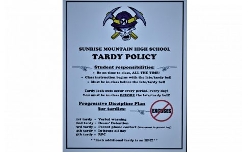 Sunrise Mountain Makes Changes To Tardy Policy This Year