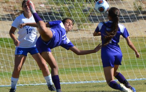 Girls Soccer Mercy-Rules Chaparral, 8-0