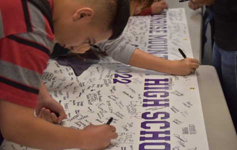 Banner Signing Is Intended To Emphasize Commitment To Freshmen