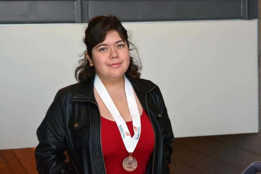 Kaylee Gomez Wins Bronze For Early Childhood
