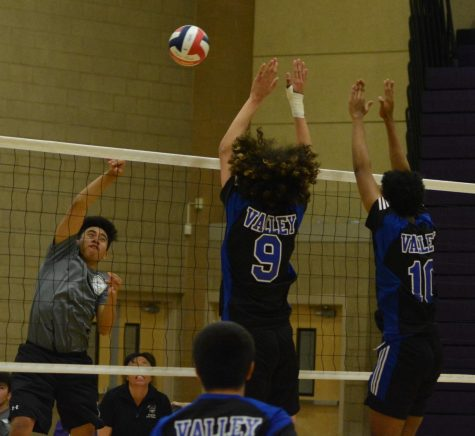 Boys Volleyball Has Some Work To Do As A Team