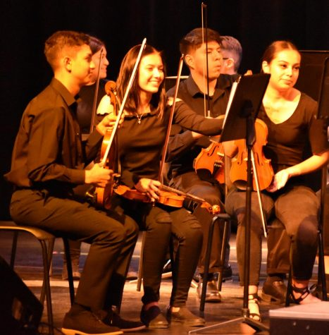 Orchestra and Band gives an impressive performance at the Fall concert