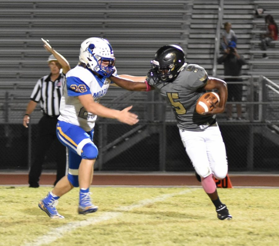 Miners Football Fail To Score Against Moapa Valley