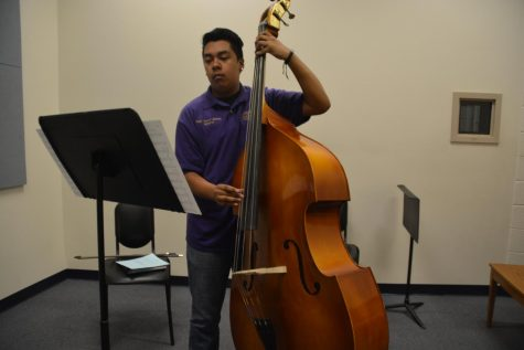 Edgar Orozco-Jimenez Masters Double Bass In Orchestra