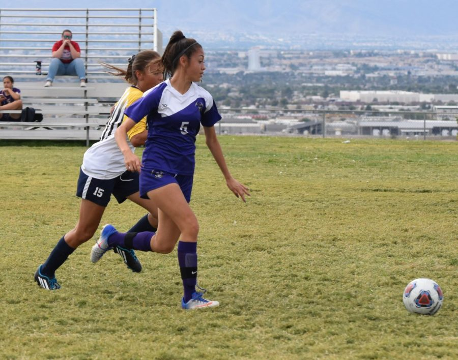 Girls Soccer No Longer Undefeated After Loss To Boulder City