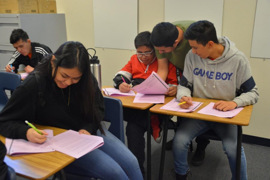 New Class, Junior Studies, Aids Students For Upcoming ACT Test
