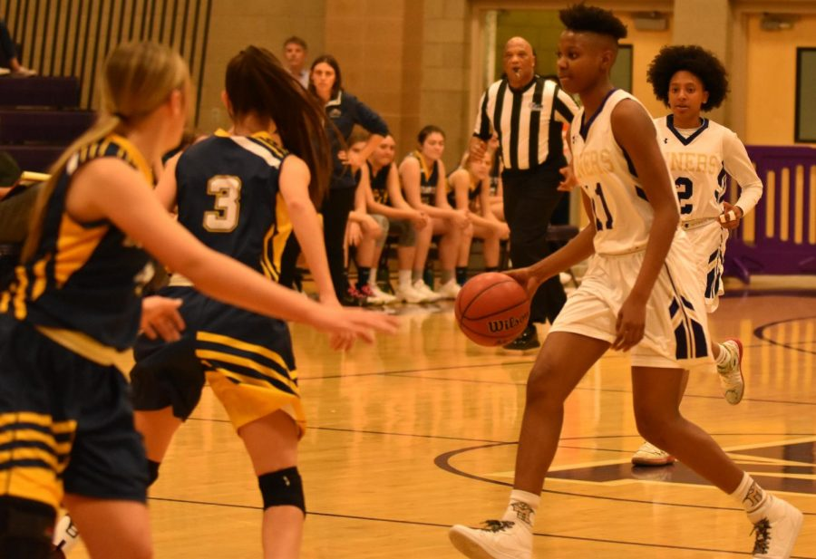 Success For Girls Basketball Against Moapa Valley, Chaparral