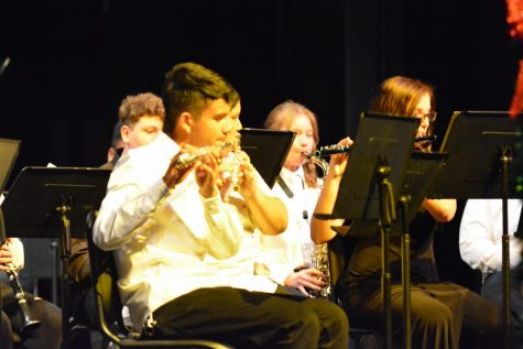 Band Pre-Festival Concert Gets Group Ready for UNLV Trip